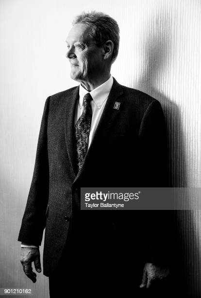Portrait of former Mount Union coach Larry Kehres before induction ceremony at New York Hilton Midtown New York NY CREDIT Taylor Ballantyne