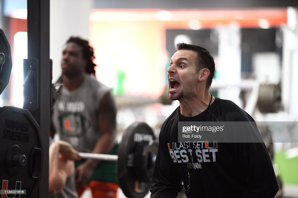 Portrait of Miami strength and conditioning coach David Feeley