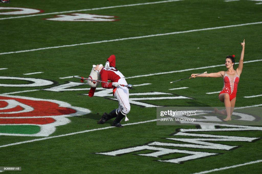 University of Oklahoma vs University of Georgia, 2018 Rose Bowl : Fotografía de noticias