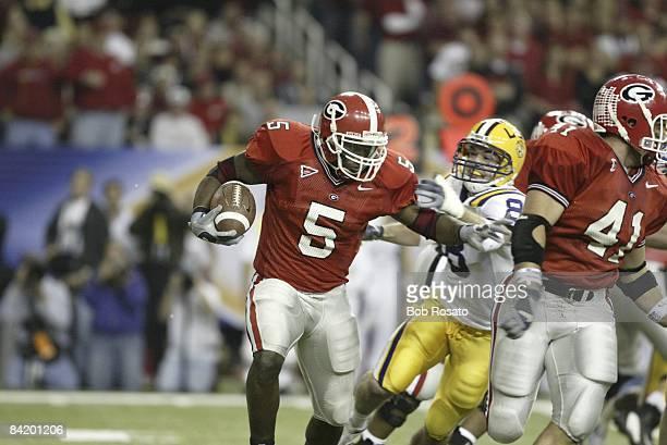 Championship: Georgia Michael Cooper in action vs LSU. Atlanta, GA 12/6/2003 CREDIT: Bob Rosato