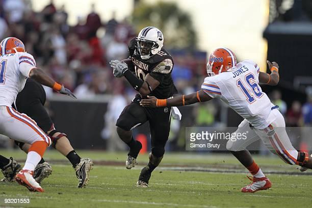 South Carolina Brian Maddox in action vs Florida Columbia SC CREDIT Simon Bruty