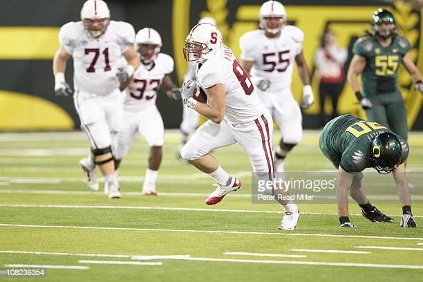 Stanford Konrad Reuland in action vs Oregon at Autzen StadiumEugene OR 10/2/2010CREDIT Peter Read Miller