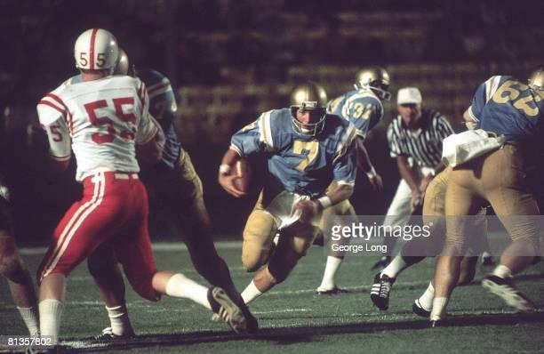College Football UCLA Mark Harmon in action rushing vs Nebraska Los Angeles CA 9/9/1972