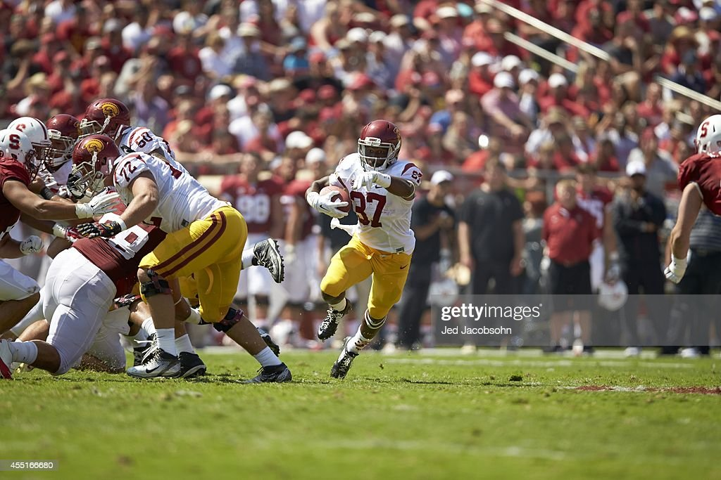 Stanford University vs University of Southern California : News Photo