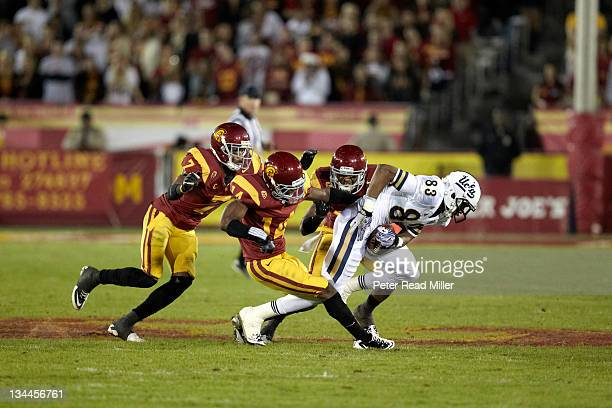 USC Nelson Rosario in action vs UCLA at Los Angeles Memorial Coliseum Los Angeles CA CREDIT Peter Read Miller