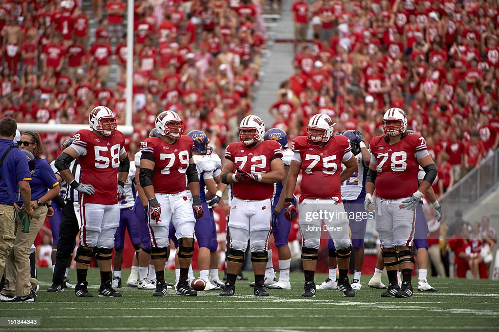 new concept 2390f 500d2 Wisconsin Rick Wagner , Ryan Groy , Travis Frederick , Zac ...