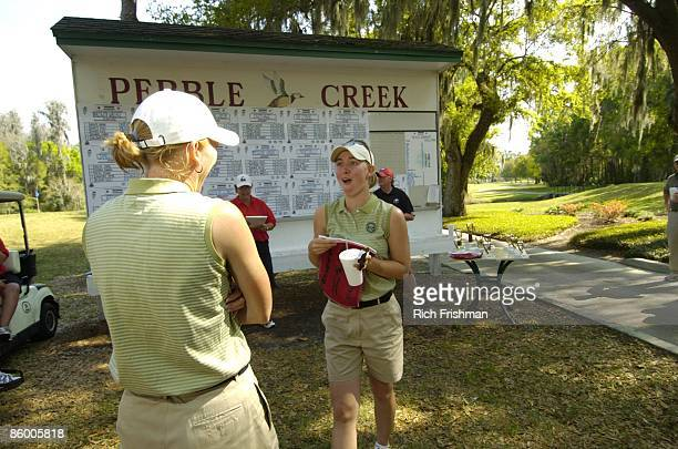 Snowbird Intercollegiate Golf Tournament View of Marshall Tammy Mahar and teammate at Pebble Creek GC Mahar became one of the oldest Division I...