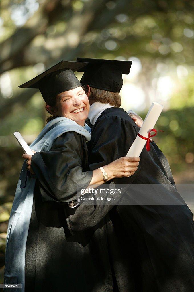College graduates : Stockfoto