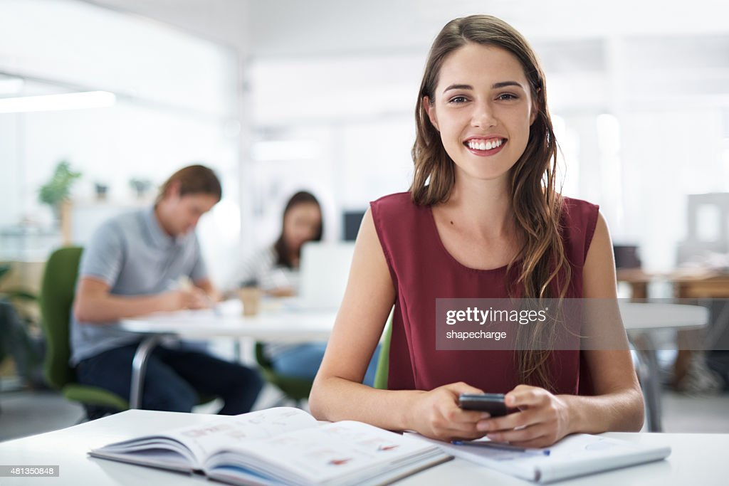 College is whatever you make of it : Stock Photo