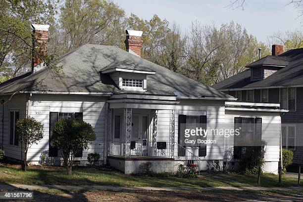Duke Lacrosse Investigation View of house at 610 North Buchanan Boulevard in which alleged rape supposedly occurred during party by Duke Lacrosse...