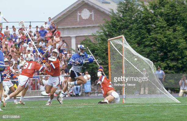 NCAA Championship John Hopkins Del Dressel in action scoring vs Syracuse at Stevenson Field Providence RI CREDIT Anthony Neste