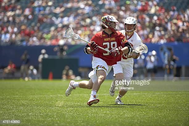 Finals: Maryland Ross Komenda in action vs Denver at Lincoln Financial Field. Philadelphia, PA 5/25/2015 CREDIT: Al Tielemans