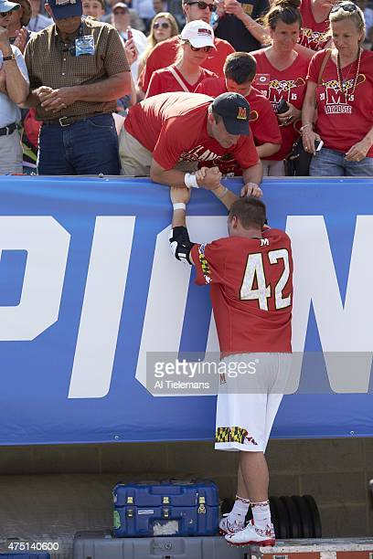 Finals: Rear view of Maryland Zack Wholley looking upset after loss vs Denver at Lincoln Financial Field. Philadelphia, PA 5/25/2015 CREDIT: Al...