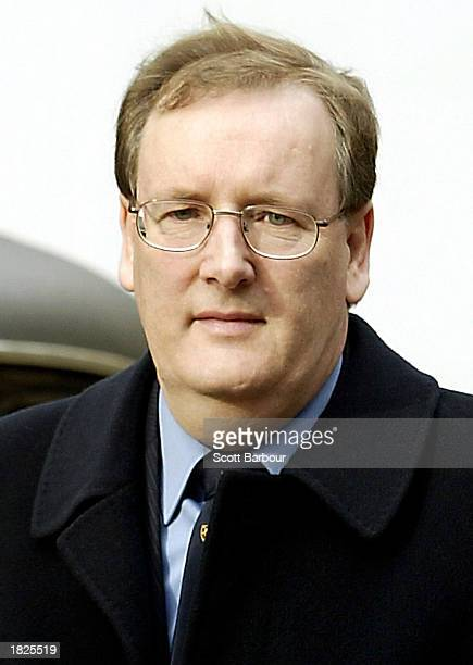 College lecturer Tecwen Whittock arrives at Southwark Crown Court March 3, 2003 in London. Whittock, along with Charles Ingram and his wife Diana...