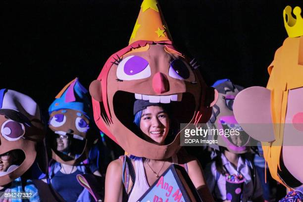 College of Fine Arts with their children story themed mask The most awaited Christmas event in the University of the PhilippinesDiliman which is the...