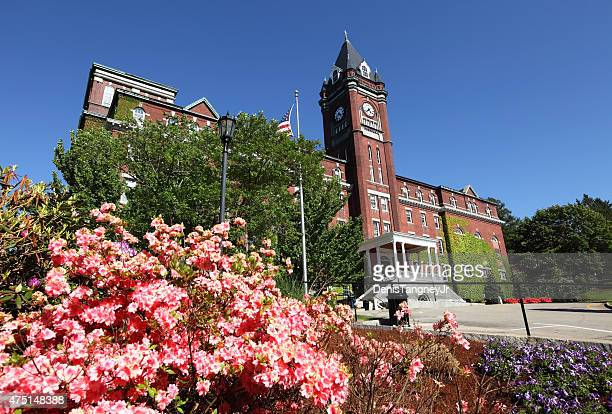 college of the holy cross - worcester massachusetts stock pictures, royalty-free photos & images