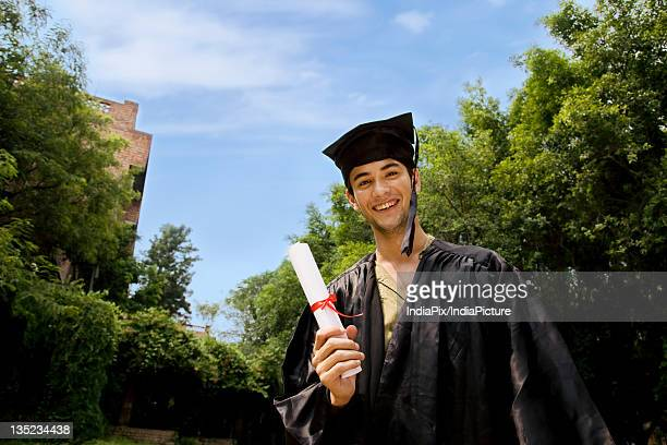 college student at graduation ceremony - new generation stock pictures, royalty-free photos & images