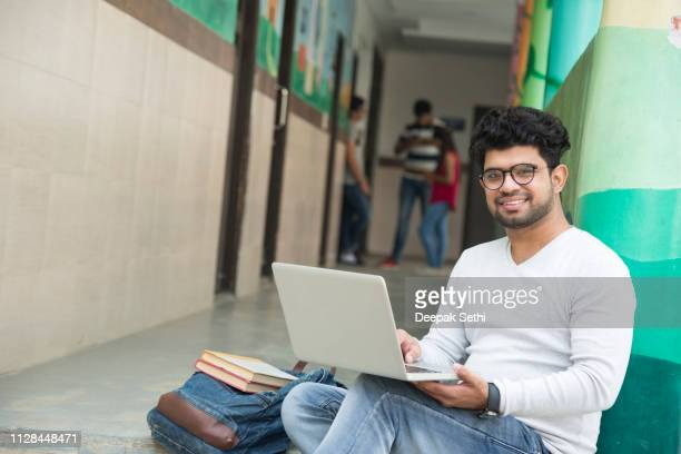 college student - Stock image