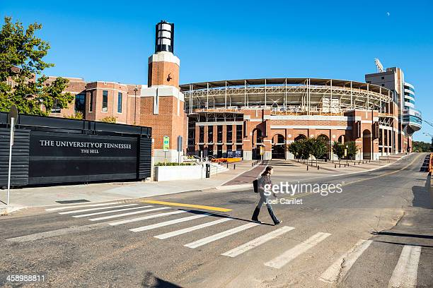neyland stadium at university of tennessee - knoxville tennessee stock pictures, royalty-free photos & images