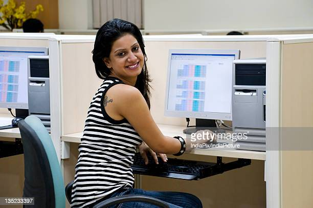 college student with computer - new generation stock pictures, royalty-free photos & images