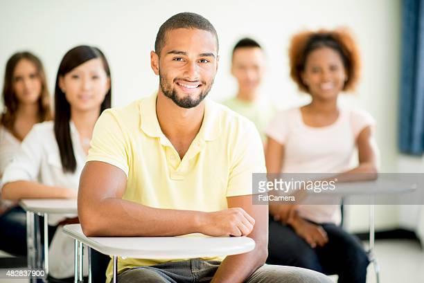 College-Studenten im Hörsaal