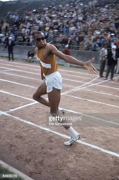 College Track & Field: San Jose State Tommie Smith during meet at Spartan Stadium. San Jose, CA 4/23/1967 CREDIT: Eric Schweikardt