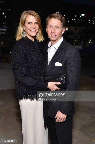 Collen Bell and Bradley Bell attend Hauser Wirth Los Angeles Opening of Annie Leibovitz and Piero Manzoni and Musical Performance by Patti Smith at...