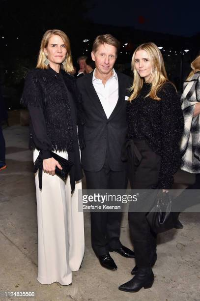 Collen Bell Bradley Bell and Charlotte Bell attend Hauser Wirth Los Angeles Opening of Annie Leibovitz and Piero Manzoni and Musical Performance by...