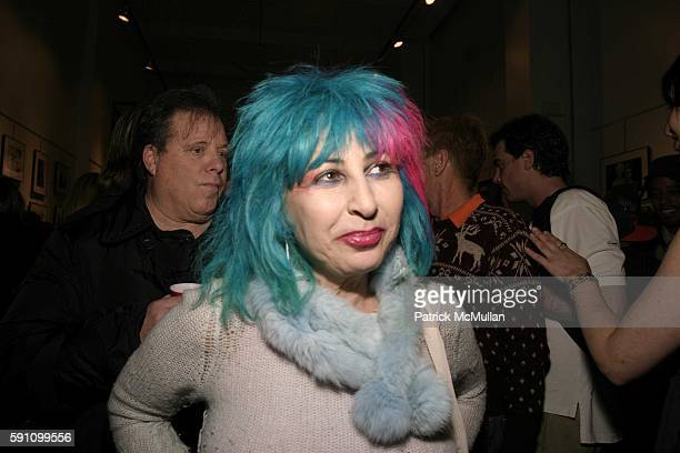 Collette attends Edie Sedgwick Unseen Photographs of a Warhol Superstar Opening Reception Hosted by Misha Sedgwick at Gallagher's Art and Fashion...