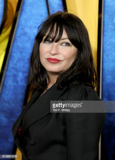 Collette Cooper attends the European Premiere of 'Black Panther' at Eventim Apollo on February 8 2018 in London England