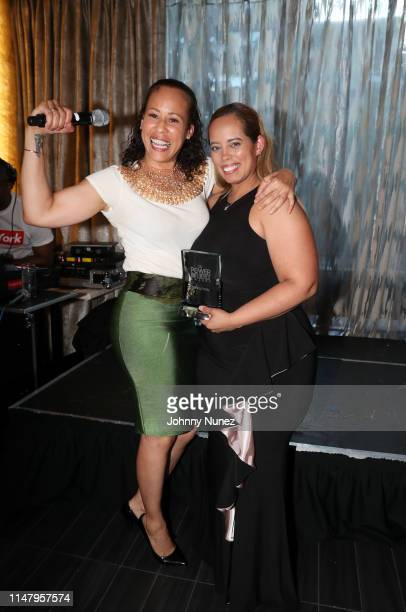Collette V Smith and Melody Velez attend The Power Of Influence Awards at ZAVO on June 3 2019 in New York City