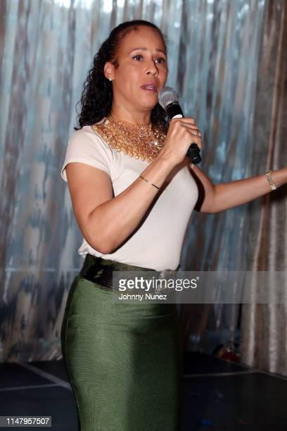 Collette V Smith speaks at The Power Of Influence Awards at ZAVO on June 3 2019 in New York City