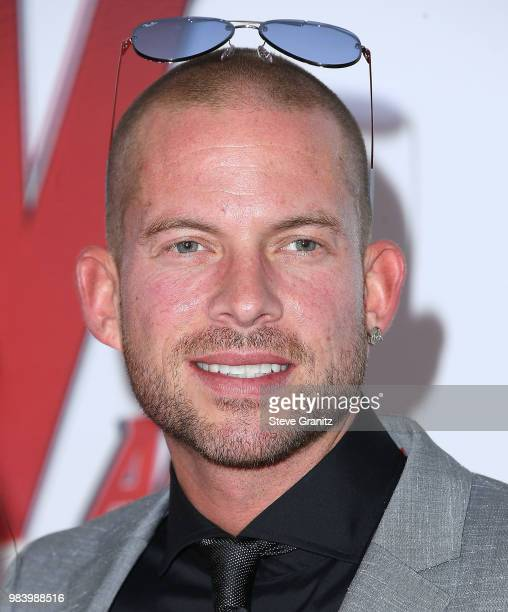 Collie Buddz arrives at the Premiere Of Disney And Marvel's 'AntMan And The Wasp' on June 25 2018 in Hollywood California