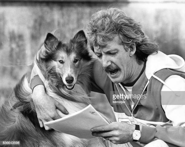 Collie Glen tries out the script with Brendan Healey