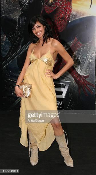 Collien Fernandes during SpiderMan 3 Berlin Premiere at Cinestar Cinema Berlin in Berlin Berlin Germany