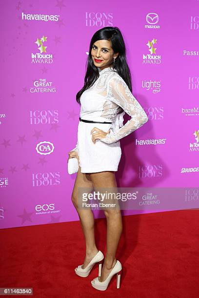 Collien UlmenFernandes attends the InTouch Awards 'Icons Idols' at Nachtresidenz on September 29 2016 in Duesseldorf Germany