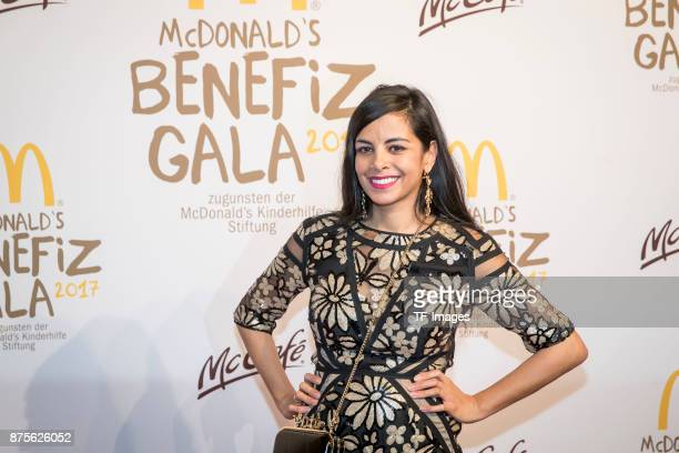 Collien UlmenFernandes attends the McDonald's charity gala at Hotel Bayerischer Hof on November 10 2017 in Munich Germany