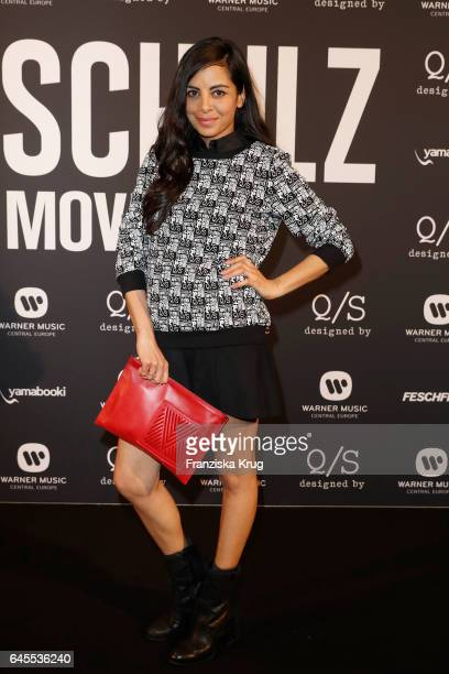 Collien UlmenFernandes attends the 'Robin Schulz The Movie' world premiere at Cinemaxx on February 24 2017 in Hamburg Germany