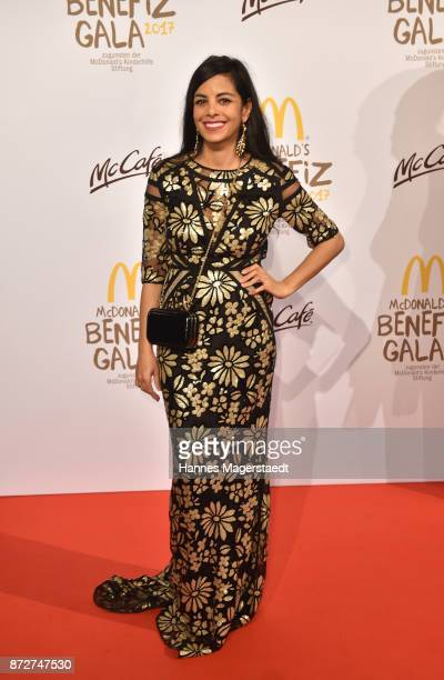 Collien UlmenFernandes during the McDonald's charity gala at Hotel Bayerischer Hof on November 10 2017 in Munich Germany