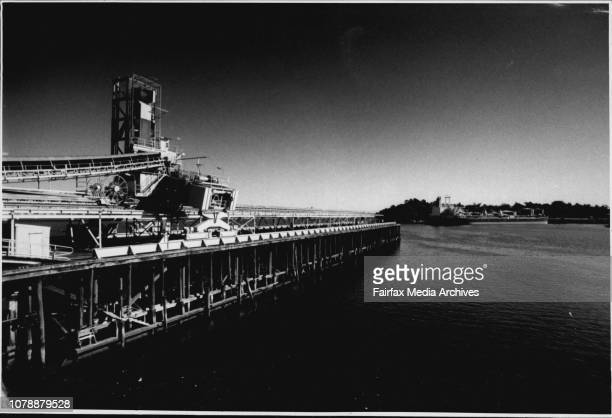 Colliers Berth at Balls read bay which has or is being put on the ***** Listing.End of an era...Balls Head coal loader is to be dismantled.North...