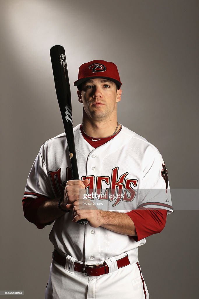 Collin Cowgill #70 of the Arizona Diamondbacks poses for a portrait at Salt River Fields at Talking Stick on February 21, 2011 in Scottsdale, Arizona.