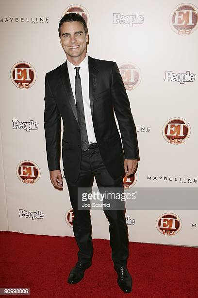 Collin Egglesfield arrives at Vibiana for the 13th Annual Entertainment Tonight and People magazine Emmys After Party on September 20, 2009 in Los...