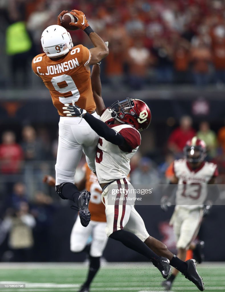 Big 12 Championship - Texas v Oklahoma : News Photo