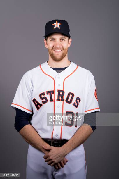 Collin McHugh of the Houston Astros poses during Photo Day on Wednesday February 21 2018 at the Ballpark of the Palm Beaches in West Palm Beach...