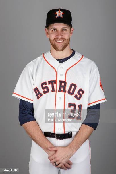 Collin McHugh of the Houston Astros poses during Photo Day on Sunday February 19 2017 at the Ballpark of the Palm Beaches in West Palm Beach Florida