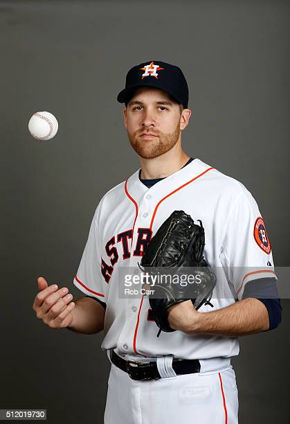 Collin McHugh of the Houston Astros poses on photo day at Osceola County Stadium on February 24 2016 in Kissimmee Florida