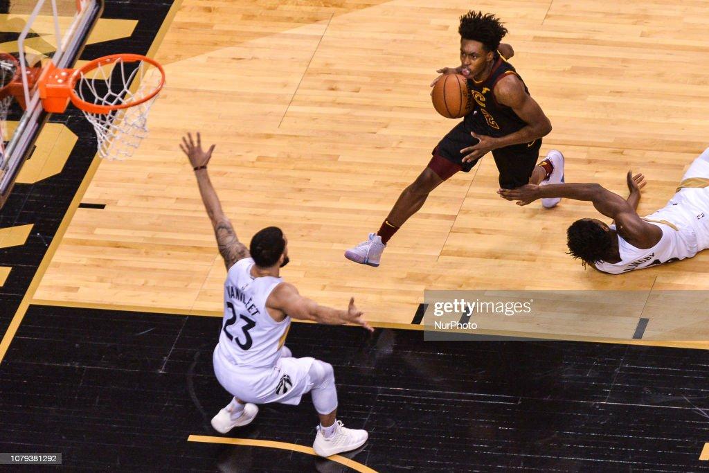 Toronto Raptors v Cleveland Cavaliers - NBA Game : News Photo