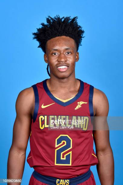 Collin Sexton of the Cleveland Cavaliers poses for a head shot during the Cleveland Cavaliers Media Day on September 24 2018 at the Cleveland Clinic...