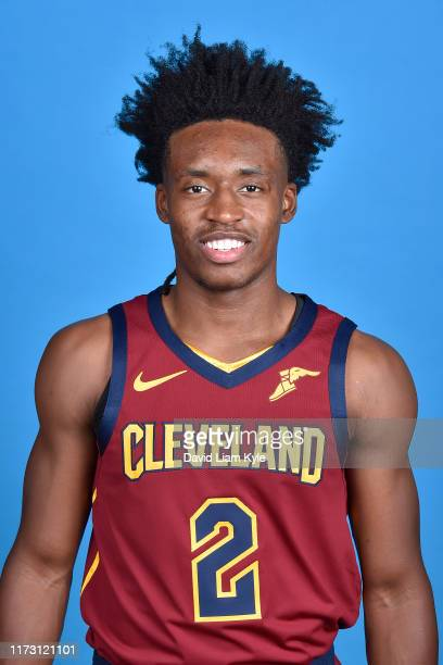 Collin Sexton of the Cleveland Cavaliers poses for a head shot on media day at Cleveland Clinic Courts on September 30 2019 in Independence Ohio NOTE...