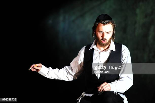 Collin Shay as Yoel in the Royal Opera's production of Na'ama Zisser's Mamzer Bastard directed by Jay Scheib and conducted by Jessica Cottis at the...